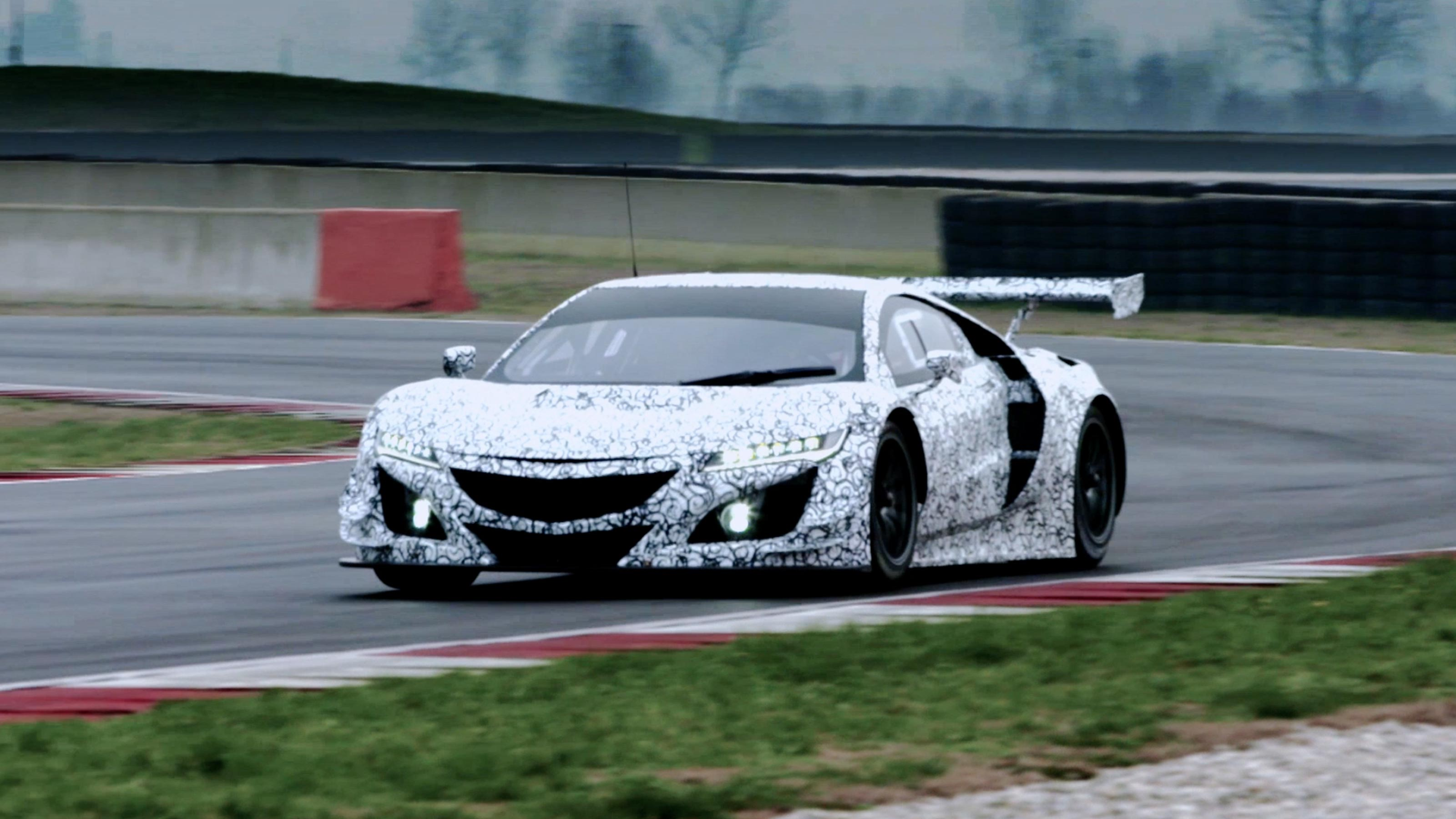 2021 Acura Nsx Gt3 Racing Specs And Engine Acura Com